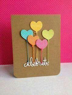 32 handmade birthday card ideas and images diy birthday cards add a simple die cut sentiment celebrate for an easy handmade birthday card bookmarktalkfo Gallery