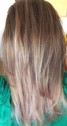 my new hair. blonde highlights!