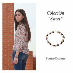 La colección SWEET nos traslada a la ciudad donde las perlas y el cuarzo rosa identifican un momento de tu día.  POUSA DURANY.