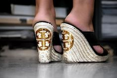 Want these wedges Tory Burch shoes