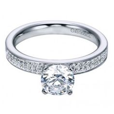 Simplicity at its finest! Any girl would love this classic engagement ring from Wedding Day Diamonds!