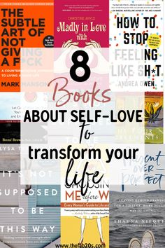 8 Books about self love to heal your soul. These are the best books on learning to love. Best Books on self compassion and forgiveness. Learn to let yourself off the hook. Best books to learn about yourself. These self help books are a must read for Top Books To Read, Self Love Books, Books To Read In Your 20s, Feel Good Books, Best Self Help Books, Books To Read For Women, Healing Books, Relationship Books, Books On Relationships
