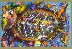Pinocchio by Jacovitti