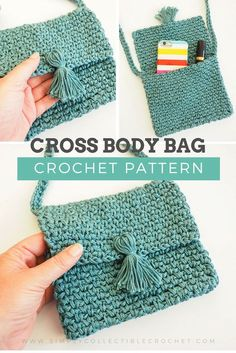 Crochet Pattern - Cute Cross Body Bag I think I found the perfect bag that would carry my tiny everyday essentials Check this out Maybe you will like it too Click the link now slingbag cute DIY crochetlove simplycollectible Bag Crochet, Crochet Shell Stitch, Crochet Cross, Crochet Purses, Crochet Gifts, Crochet Handbags, Crochet Baskets, Purse Patterns Free, Knitting Patterns