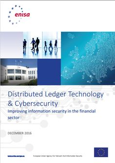#EU #ENISA report on #BlockchainTechnology and #BlockchainSecurity #DistributedLedger Technology