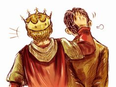 Merlin & Arthur (by boontrotter) This sums up the bromance rather nicely lol! :D