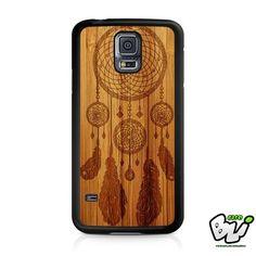 Dreamcatcher Wood Design Samsung Galaxy S5 Case