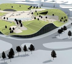 unbuilts: Sports and Recreational Centre | Green Forum Poreč | Porec | Croatia | 3HLHD Architects