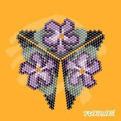 Violets... Pdf pattern