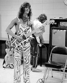 Eddie Van Halen and Michael Anthony Alex Van Halen, Eddie Van Halen, Van Halen 5150, Sammy Hagar, David Lee Roth, Greatest Rock Bands, Music Stuff, Music Items, Concert Photography