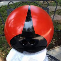 Phase 3 lady bug bowling ball project