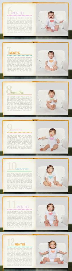 Ausha's Baby Book » HANNA MAC @Melissa Squires Squires Squires Squires Sullivan another lovely idea. You can purchase the templates and then you make the book through shutterfly or another online printer. We should do this. xx