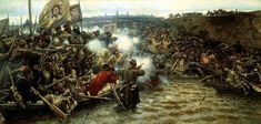 s conquest of Siberia : Vasily Surikov : Realism : history painting - Oil Painting Reproductions Russian Painting, Russian Art, Siberia, Tribute, Art Database, Canvas Artwork, Northern California, Vietnam, Images