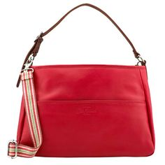 Double Handle Leather Bag