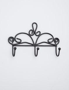 IRON TRIO iron | Knobs/hooks | Knobshooks | Organizing | Interior | INDISKA Shop Online Metal Working, Organization, Organizing, Iron, Ceiling Lights, Interior, Hooks, Home Decor, Key Fobs