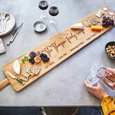 Large Oak Sharing Platter Board Four Ft
