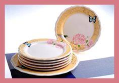 7 PARÇA Juliet Pasta Takımı  www.keramikashop.com www.keramika.com.tr