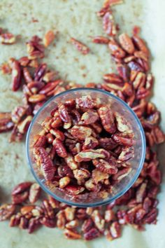 Maple bacon roasted pecans from Studio Cuisine