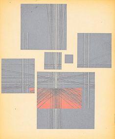 Herbert Bayer: paintings architecture graphics, (back cover), Art Center of La Jolla, La Jolla, CA, 1962 Herbert Bayer, Architecture Graphics, La Jolla, Infographic, Cover Art, Paintings, Infographics, Paint, Painting Art