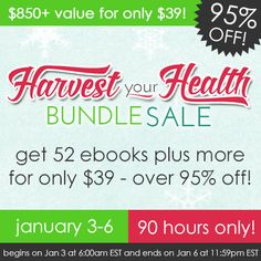 A Great Big Sale of Health and Wellness Resources for Just 75 cents a piece!