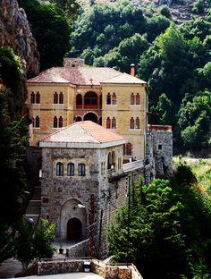 "Saint Anthony of the Desert Monastery, Qadisha Valley in Lebanon   par Joslyn ""Josie"" Ramey"