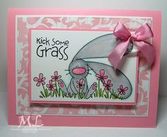 Kick some ... by eliotstamps - Cards and Paper Crafts at Splitcoaststampers