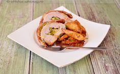 Cukkinis-mozzarellás szűzpecsenye újkrumplival Mozzarella, Pork, Meat, Kale Stir Fry, Pork Chops