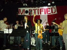MORTIFIED. Awesome truthiness story-telling show accompanied by The Mortified After School Orchestra! It rocks FunTown.
