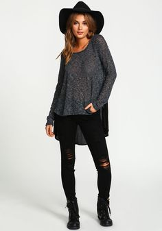 TWO TONE KNIT DOLMAN TOP Site Master, Dolman Top, Love Culture, Hipster, Knitting, Image, Tops, Style, Fashion