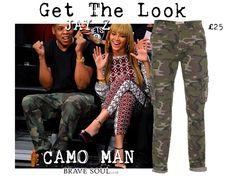 Get the Look #Jayz #Camo #mensfashion #bravesoulcouk