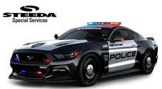 Steeda Mustang GT police car