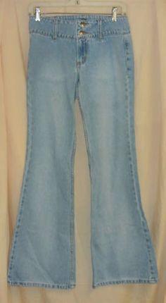 "XOXO Hip Hugger Jeans- 1/2 Waistband-29"", hip-34"", rise-6"", inseam-31. Lookin' Good!"
