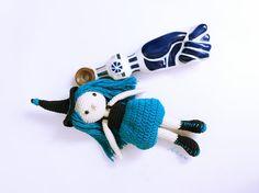 Patrón amigurumi BrujitaPatrón crochet BrujaBruja crochet