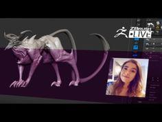 Ashley Adams - Creature & Character Concept Sculpting - Episode 11
