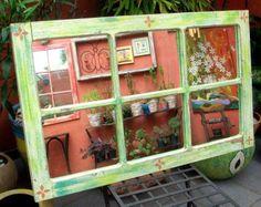 Espelho de janela de demolição | Alem da Rua Atelier