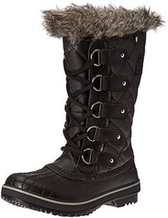 Sorel Womens Tofino BootBlack5 M US ** You can find out more details at the link of the image.