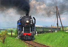 Locomotive, Trains, Pictures, Locs, Train
