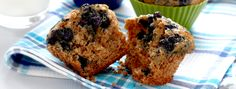 Blueberry Bran Muffins - These delightful blueberry muffins make for one delicious gift. Arrange them in a basket, tie on a colourful bow and wait for the compliments.