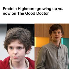 "209 Likes, 16 Comments - The Good Doctor on ABC (@thegooddoctorabc_) on Instagram: ""Freddie's transformation from his childhood acting career to now on #TheGoodDoctor"""