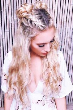 Best Hairstyles & Haircuts for Women in 2017 / 2018 : Bohemian hairstyles are wo.- Best Hairstyles & Haircuts for Women in 2017 / 2018 : Bohemian hairstyles are worth mastering because they are creative pretty and so- Hairstyles Haircuts, Summer Hairstyles, Trendy Hairstyles, Cute Everyday Hairstyles, Hairdos, Long Haircuts, Holiday Hairstyles, Creative Hairstyles, Fashionable Haircuts