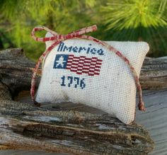 Check out this item in my Etsy shop https://www.etsy.com/listing/289891517/cross-stitch-america-1776-mini-pillow
