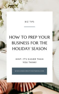 As we approach the busy holiday season, along with prepping our thanksgiving grocery shopping lists and buying Christmas presents, we also need to start preparing our businesses! Check out my top 5 tips for working ahead during the holiday season on the blog. #blogtips #holidayprep #biztips Business Quotes, Business Tips, Shopping List Grocery, Small Business Marketing, Entrepreneur Quotes, Things To Know, Blog Tips, Christmas Presents, Creative Business