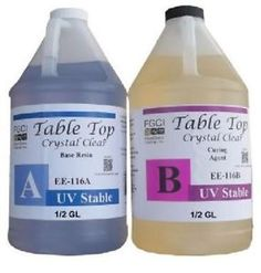 Epoxy Table Top Resin, 1 Gallon Kit, Crystal Clear, Parts A & B Included Epoxy Table Top, Resin Table, Wood Table, Vintage Man Cave Ideas, Resin Crafts, Wood Crafts, Woodworking Plans, Woodworking Projects, Clear Epoxy Resin