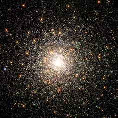 Hubble Images a Swarm of Ancient Stars
