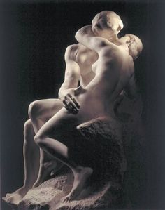 """The kiss"" Rodin"
