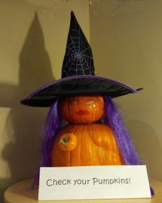 Check your Pumpkins!