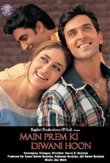 Main Prem Ki Diwani Hoon Movie Part The Kapoor family are very rich Indians who live in India and want their eldest daughter, a girl named Sanjana, to get married to an American-Indian businessman named Prem. Prem is welcomed. Bollywood Stars, Hindi Bollywood Movies, Bollywood Cinema, Bollywood Party, Bollywood Actress, Cinema 21, Indiana, Hindi Movies Online, Romance Movies