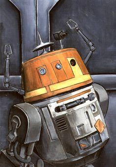 My second favorite droid in all of Star Wars (HK47 is my favorite). Beep Beep Boop by grim1978.deviantart.com on @DeviantArt