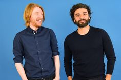 """Oscar Isaac And Domhnall Gleeson Play A Game Of Robot """"Would You Rather"""""""