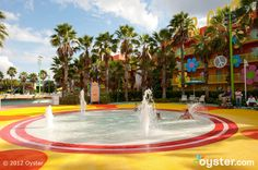 The Children's Pool at the Disney's Pop Century Resort